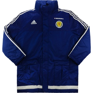 2016-17 Scotland Player Issue Padded Jacket *As New*
