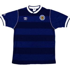 1985-88 Scotland Home Shirt (Excellent) M