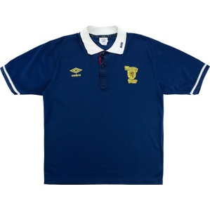 1988-91 Scotland Home Shirt (Very Good) M