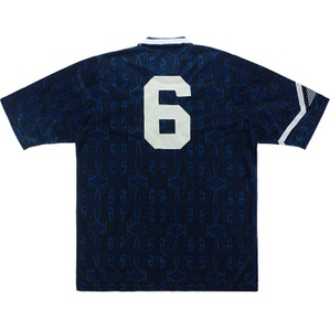1992 Scotland U-21 Match Worn Home Shirt #6 (v Switzerland)
