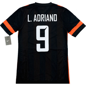2013-15 Shakhtar Donetsk Player Issue Home European Shirt L.Adriano #9 *BNIB*