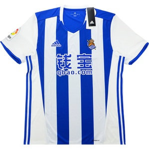 2016-17 Real Sociedad Home Shirt *BNIB*