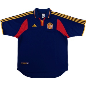 2000-02 Spain Away Shirt (Very Good) XL