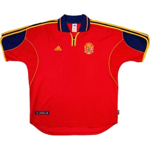 1999-02 Spain Home Shirt (Very Good) L
