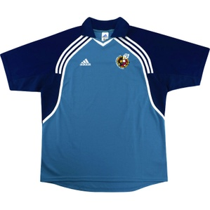 2000-01 Spain Adidas Polo Training Shirt (Excellent) L