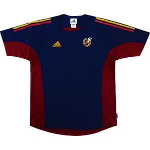 2000-01 Spain Adidas Training Shirt (Excellent) M/L