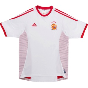 2002-04 Spain Away Shirt (Very Good) S