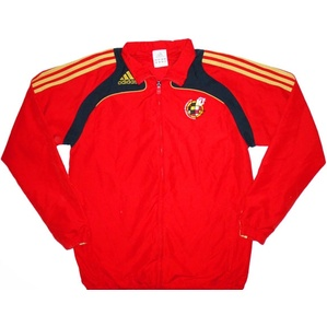 2007-08 Spain Adidas Woven Presentation Jacket (Very Good) L