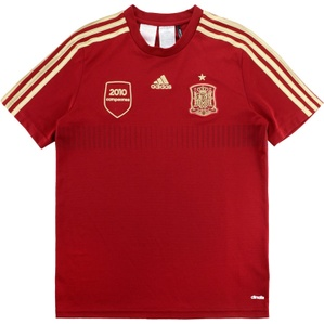 2013-15 Spain Adidas Training Shirt (Very Good) L.Boys