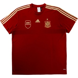 2013-15 Spain Adidas Training Shirt (Excellent) XL