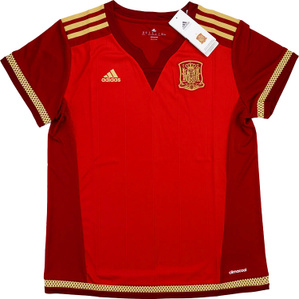 2015-16 Spain Women's Home Shirt *BNIB* XS