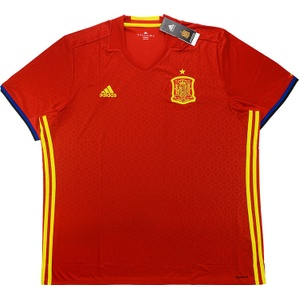 2016-17 Spain Home Shirt *BNIB*