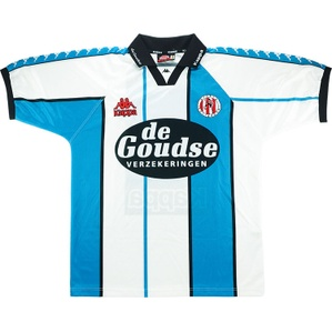 1997-98 Sparta Rotterdam Match Issue Away Shirt #11