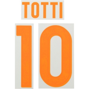 2015-16 Roma Yellow Name Set Totti #10 (Junior)