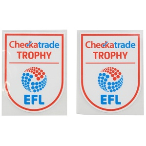 2016-18 Checkatrade Trophy EFL Player Issue Patch (Pair)