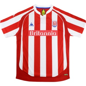 2009-10 Stoke City Home Shirt (Excellent) L