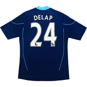 2010-12 Stoke City Away Shirt Delap #24 (Excellent) L