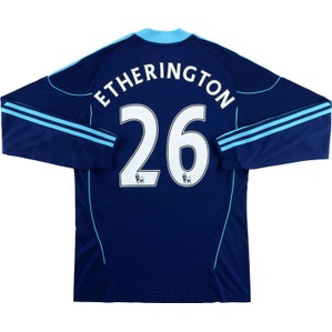2010-11 Stoke City Away L/S Shirt Etherington #26 (Excellent) M