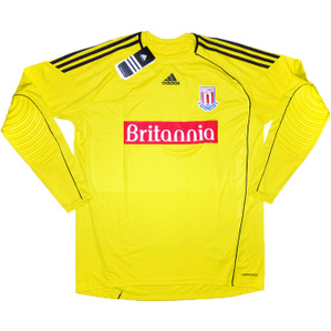 2010-11 Stoke City Yellow GK Shirt *BNIB*