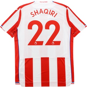 2017-18 Stoke City Home Shirt Shaqiri #22 *w/Tags*