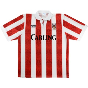1994-95 Stoke City Home Shirt (Very Good) M