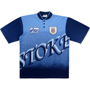 1996-97 Stoke City Away Shirt (Good) XL