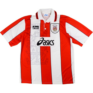 1996-97 Stoke City Home Shirt (Very Good) M
