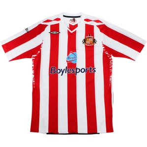 2007-08 Sunderland Home Shirt (Excellent) L