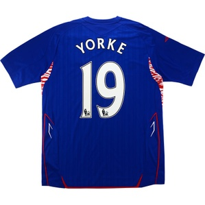 2007-08 Sunderland Third Shirt Yorke #19 (Excellent) L