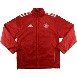 2012-13 Sunderland Adidas Waterproof Jacket (Excellent) L