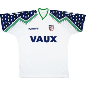 1991-94 Sunderland Away Shirt (Good) XL