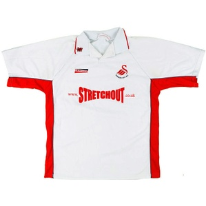 2000-01 Swansea Home Shirt (Very Good) 3XL