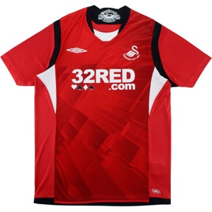 2009-10 Swansea Away Shirt (Excellent) M