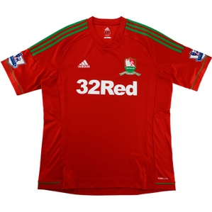 2012-13 Swansea Centenary Away Shirt (Excellent) XL