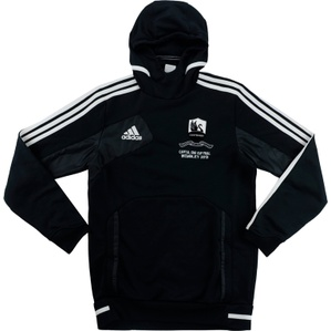 2013 Swansea League Cup Final Player Issue Hooded Sweat Top (Good) S
