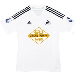 2014-15 Swansea Home Shirt (Excellent) M