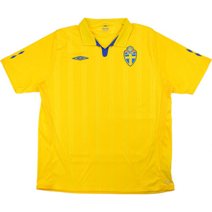 2009-10 Sweden Home Shirt (Excellent) M