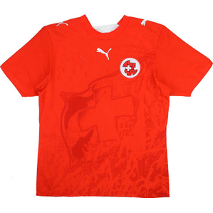 2006-08 Switzerland Home Shirt (Excellent) L