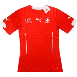 2014-15 Switzerland Player Issue Home Shirt (ACTV Fit) *BNIB*
