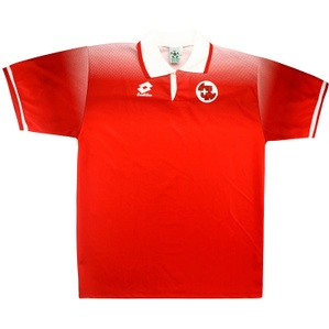 1996-98 Switzerland Home Shirt (Fair) S