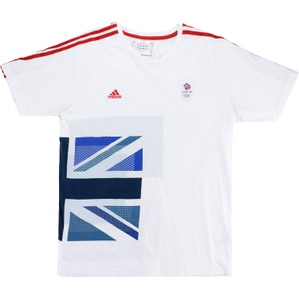 2012 Team GB Olympic Adidas Training T-Shirt (Good) L