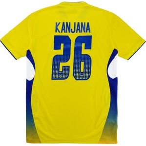 2009-10 Thailand Women's Match Issue Home Shirt Kanjana #26