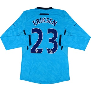 2013-14 Tottenham Player Issue Away L/S Shirt Eriksen #23 *w/Tags* XL