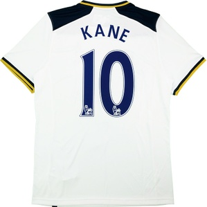 2016-17 Tottenham Home Shirt Kane #10 *w/Tags*