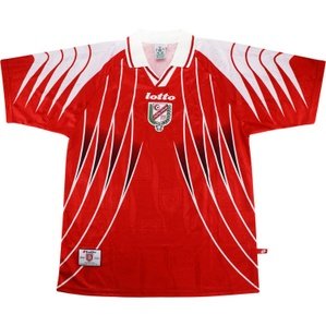 1998-99 Tunisia Home Shirt (Excellent) L