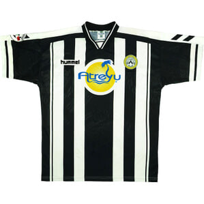 1997-98 Udinese Match Issue Home Shirt Walem #6