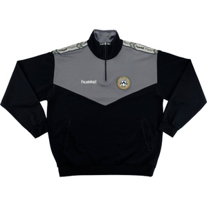 1997-98 Udinese Hummel Half Zip Training Top (Excellent) XL