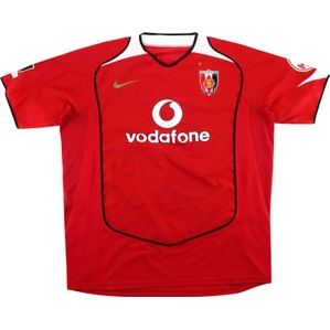 2005 Urawa Red Diamonds Home Shirt (Excellent) XL