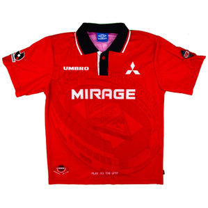 1996-98 Urawa Red Diamonds Home Shirt (Very Good) M