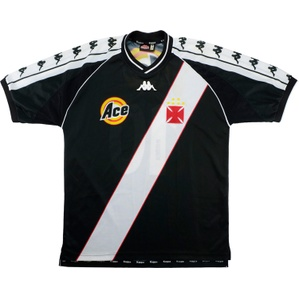 1999-00 Vasco da Gama Away Shirt #10 (Edmundo) (Excellent) M